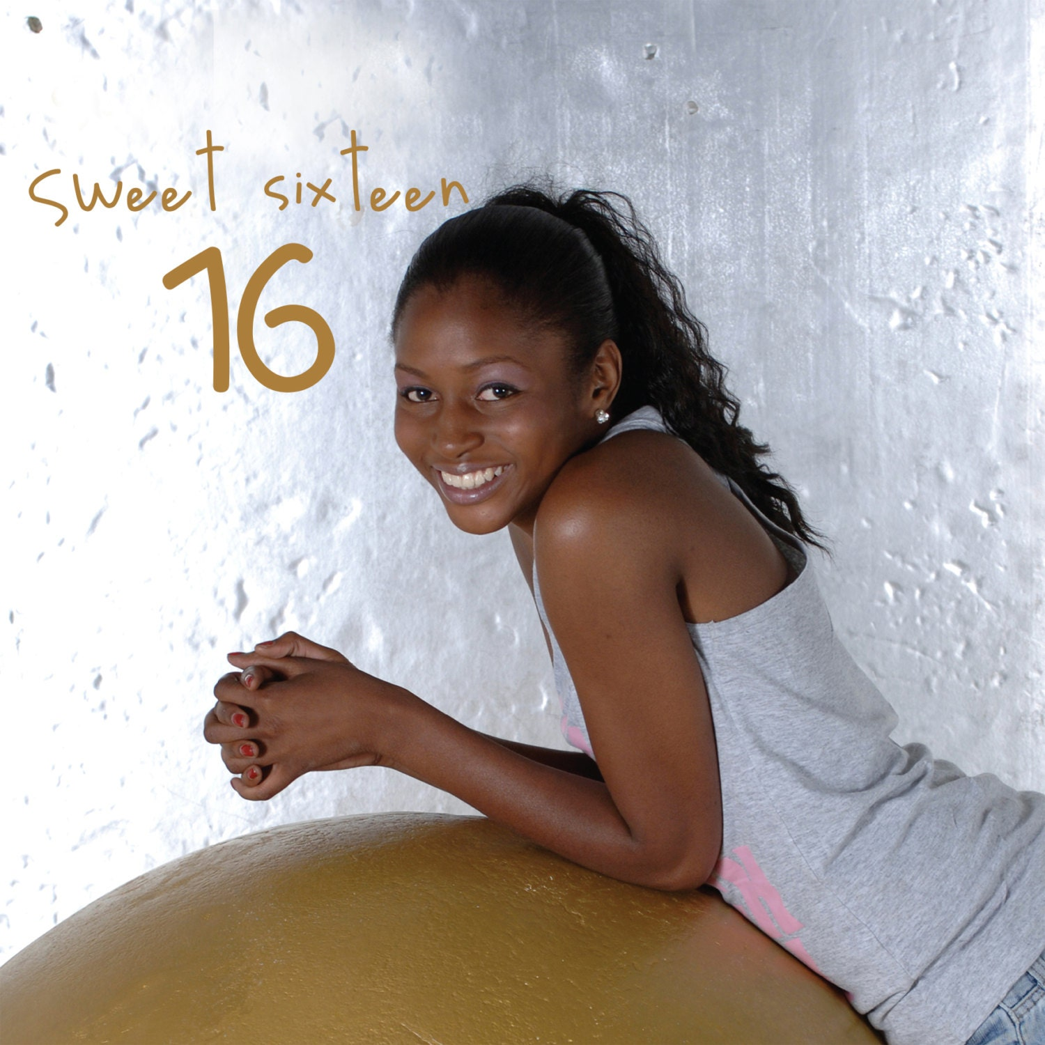 16th Birthday Sixteenth Birthday card Sweet sixteen African – Birthday Cards for the Blind