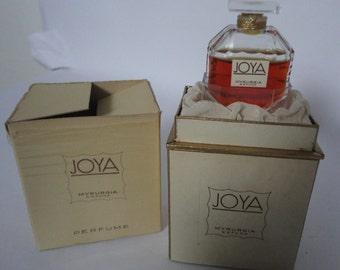 Vintage: Joya Myrurgia  Spain, Pure Parfum, Perfume, 7,5ml  1/4 oz,
