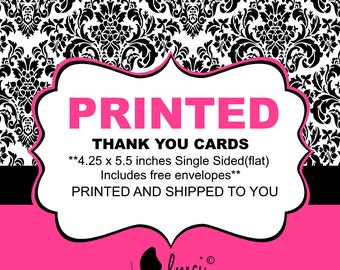 Printed Thank You Cards