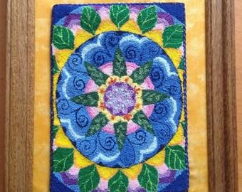 Mandala Punch Needle Pattern