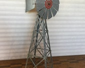 Vintage Tabletop Working Windmill