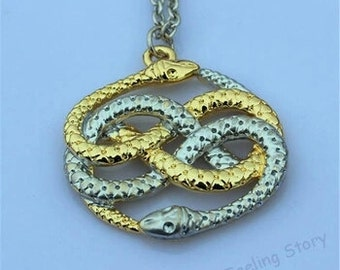auryn never ending story necklace
