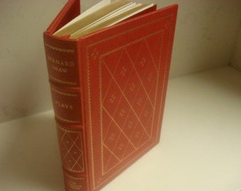 1979  Franklin Mint Library 3 Plays by  BERNARD SHAW   Unread 100s Greatest of All Time