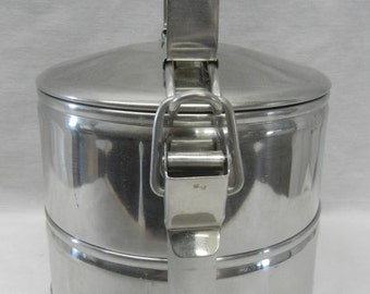 Vintage Stainless Steel Lunch Box