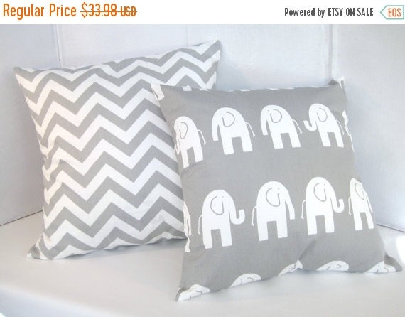 Decorative Pillows For Baby Room : SALE Pillow Covers Pillows Baby Nursery by PillowsByJanet on Etsy