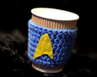 BLUE Star Trek Inspired Coffee Holder