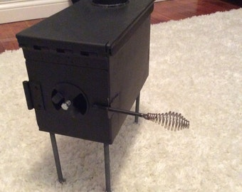 Ammo Box Wood Stove
