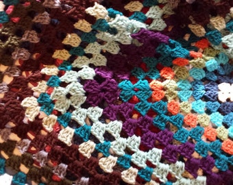 Light Stardust Crochet Afghan