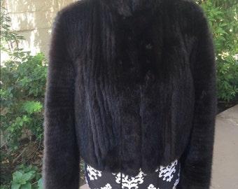 Authentic Hermes Mink Jacket