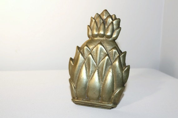 Solid Brass Pineapple Door Knocker Diy Vintage Decor