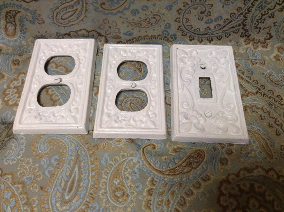 Cast iron switch plate and outlet covers - Wrought iron switch plate covers ...