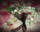 """Arm Candy. """"BLUSHED with Jade"""" 2 piece set AKA inspired."""
