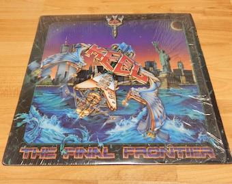 Keel the final frontier Vinyl Record LP album 1986