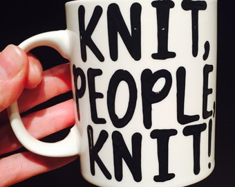 knit people knit-  Oy with the poodles already- Gilmore Girls coffee mug- Gilmore Girls quotes