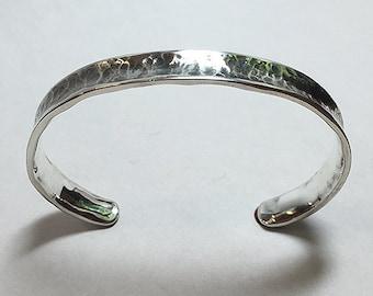 Sterling Silver Hammered Bracelets for Women
