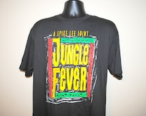 1991 Jungle Fever Rare Vintage Cult Classic 90's Spike Lee Movie Promo T-Shirt