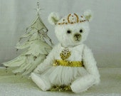 White Christmas ballet bear - Charity