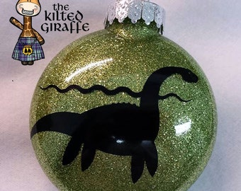 Nessie Scottish Ornament - Loch Ness Monster