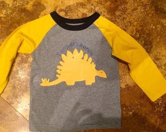 Personalized dinosaur shirt