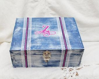 Wine Box Ceremony, Wine Box Wedding, Wedding Wine Box, Memory Box, Keepsake Box, Personalized Memory Box, Letter Box, Wine Box with Lock
