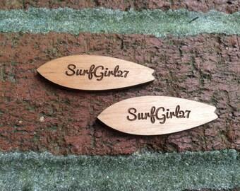 Surfboard Wood Cuts