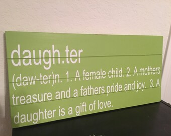 Sister definition sibling plaque sign - Plaque de finition ...