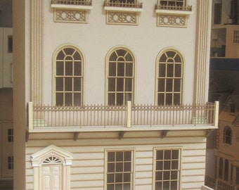 The Canterbury Town House   KIT    12th Scale  Doll House