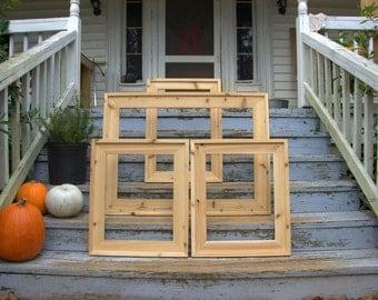 Custom Built Wood Frames