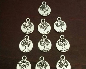 "10 - 1/2"" Double sided Tree of Life Charms"