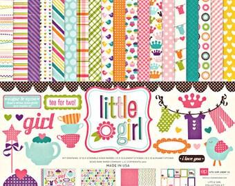 Echo Park Little Girl Collection Kit