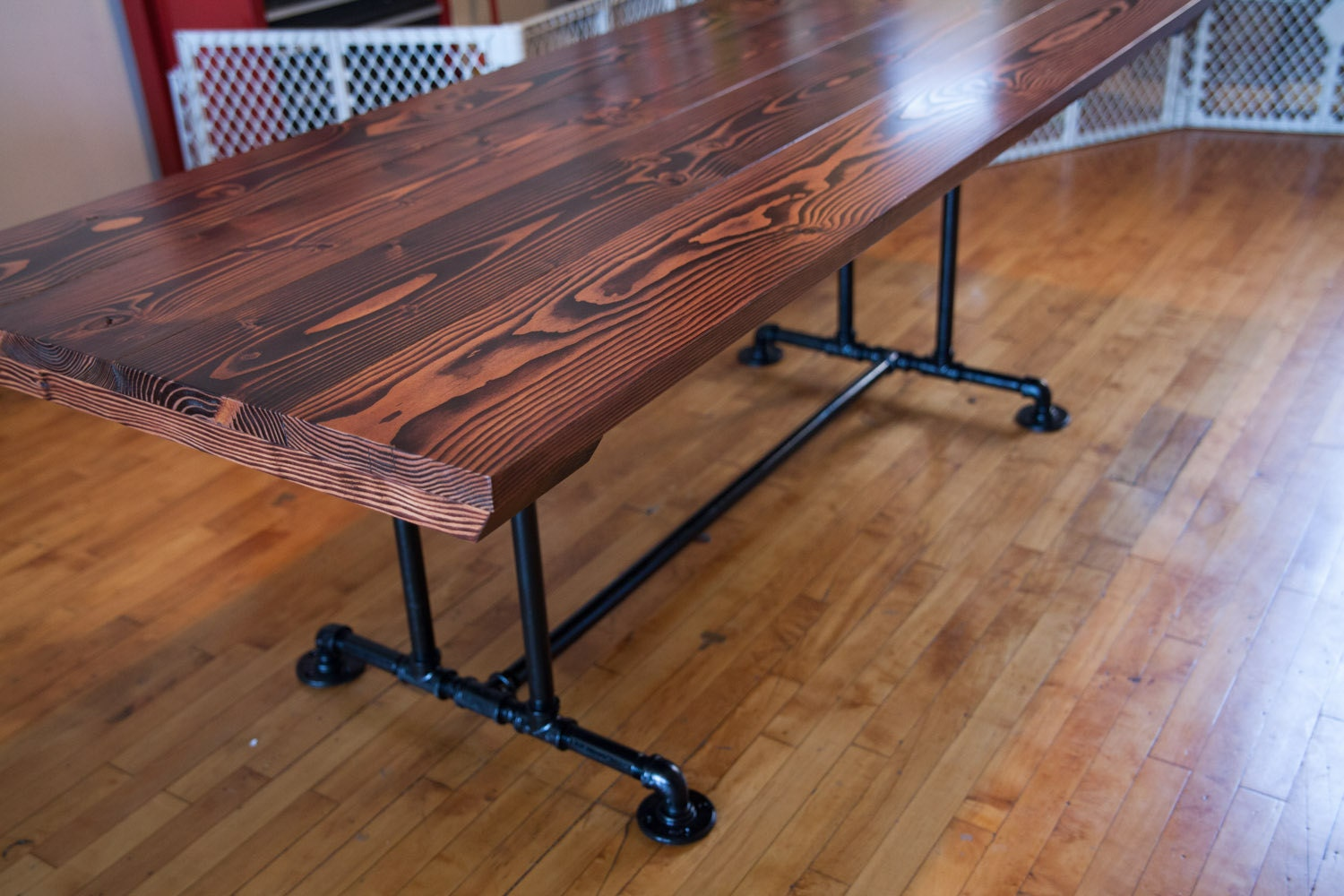 7 Industrial Style Table Farmhouse Dining Table By Emmorworks