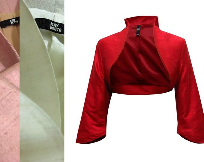 Bolero Jacket Silk bolero classic Bolero in many colors