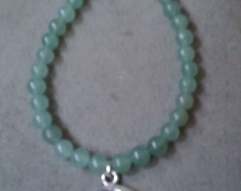 Green Aventurine I Love you to the Moon and Back Bracelet