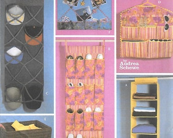 Simplicity Simply TEEN Home Decorating Pattern 5124 by Andrea Schewe ROOM ORGANIZERS