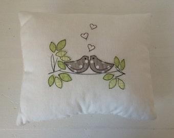 Cuddly pillow stuffed pillow bird