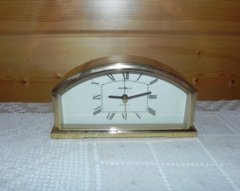 Brass Howard Miller Clock with Westminster Chimes