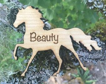 Custom Majestic Horse Magnet