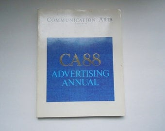 Communication Arts Magazine Volume 30, No. 7, December, 1988