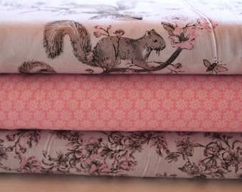 Fabric package squirrel pink 1.5 meter No. 3