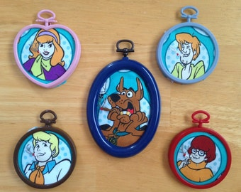 Scooby Doo and Gang Smoking Doobies Embroidery