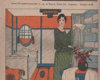 Les Dimanches de la femme   French mode magazine  23/04/1922