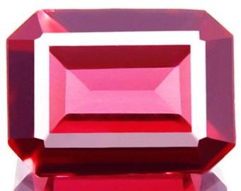 1.82ct VS Natural Unheated Magenta Pink Rhodolite Garnet Fantastic Top AAA+ Color !