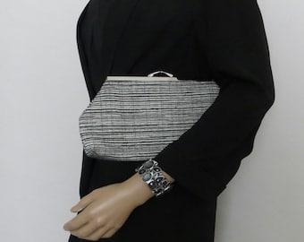 Clutch with kisssing frame, clutch, purse, wedding bag, evening bag, bags and purses, wedding bag