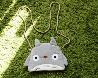 Kawaii cute Studio Ghibli anime My Neighbour Totoro Purse Handbag