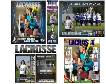"""Lacrosse """"Graphite"""" Custom Templates"""
