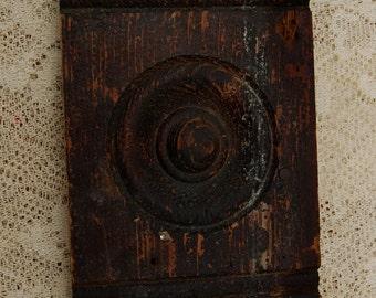 Rustic Woodwork Window Trim - Head Block/Corner Block/Base Block/Plinth Block