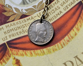 Turkey coin pendant//For key//100000 Lira//Vintage  coin//Key pendant//Handmade coin pendant//Key//1993/Mustafa Kemal coin//
