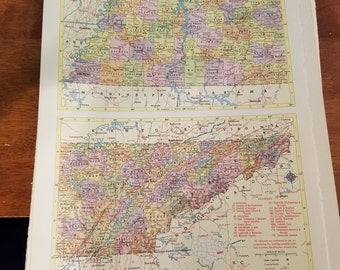 Tennessee Map Nashville Knoxville Jackson Railroad Route Map Usa State Maps United