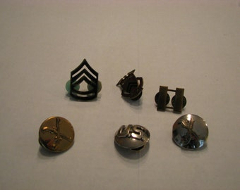 Vintage Military and ROTC Pins