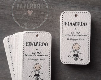 20 cards (tags) for wedding favors